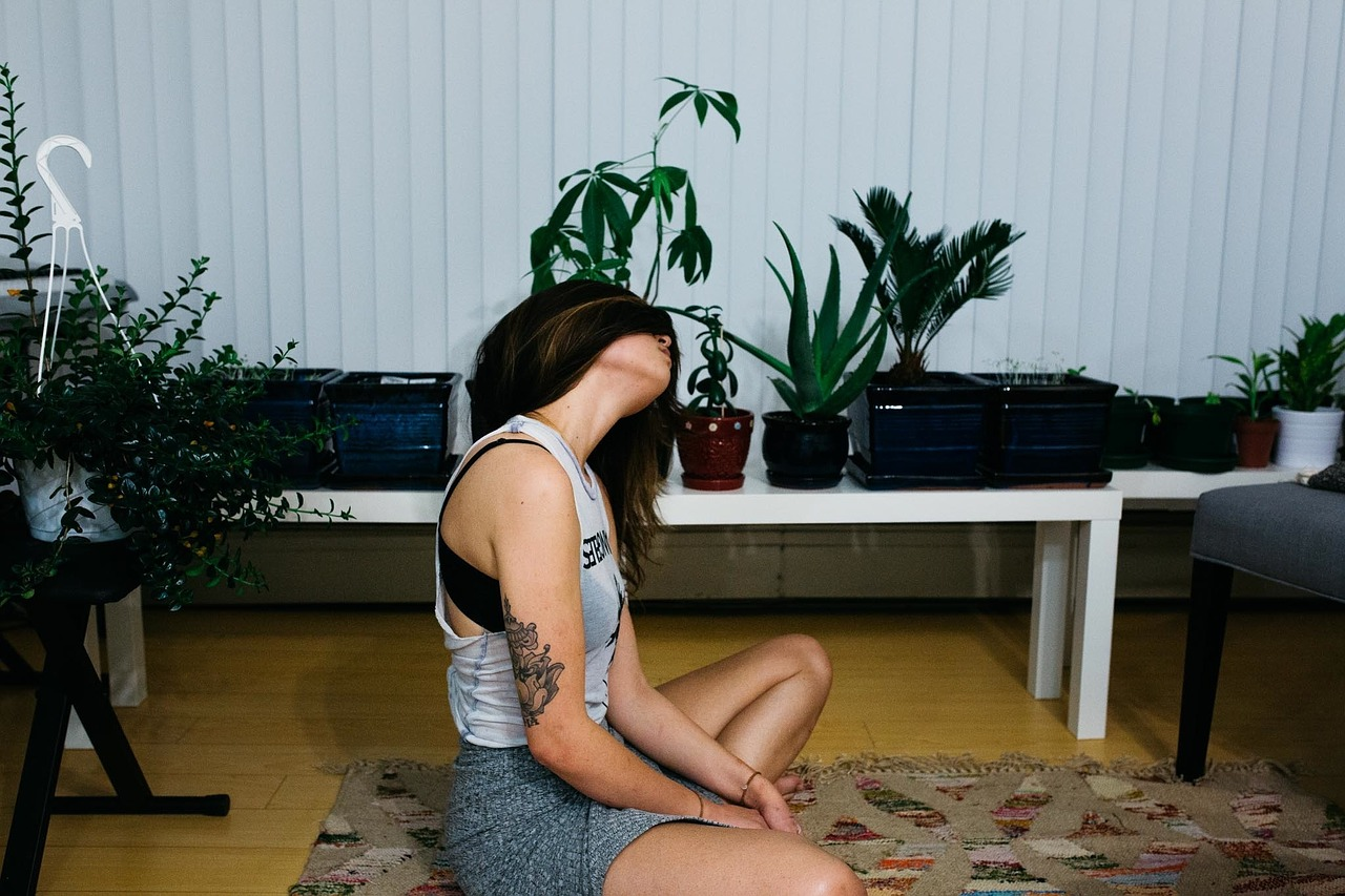 Vermeidung von Nackenschmerzen