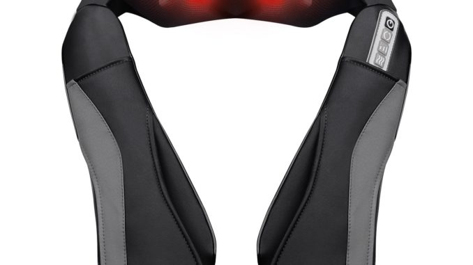 Marnur Nackenmassagegerät - günstiges Shiatsu Massagegerät für Nacken, Schulter, Rücken