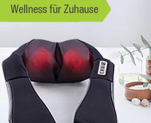 Donnerberg BASIC Nackenmassagegerät Schwarz und Jade im Vergleich