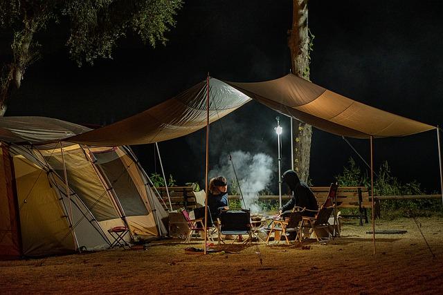 Mückenschutz beim Camping
